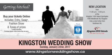 Kingston Wedding Show January 22, 2017